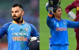 क्रिकेट इतिहास में पहली बार भारतीय महिला और पुरुष टीम के खिलाड़ी एक साथ बने ICC क्रिकेटर ऑफ द इयर- India TV