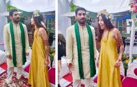 Prateek Babbar-Sanya Sagar Wedding:- India TV