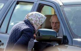 Britain: Prince Philip involved in car...- India TV
