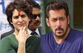 प्रियंका गांधी को भोपाल, सलमान खान को इंदौर से चुनाव लड़ाने की मांग- India TV