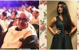 Boney kapoor and priya prakash varrier- India TV