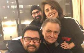 Aamir Khan met Rishi Kapoor - India TV