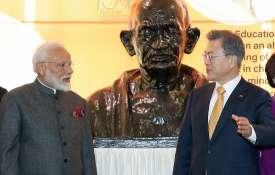 आज प्रधानमंत्री मोदी को मिलेगा सियोल का सबसे बड़ा अवार्ड, नवाज़े जाएंगे शांति पुरस्कार से- India TV