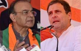 बरेली के 'निकाह-हलाला' केस का जिक्र कर कांग्रेस पर जमकर बरसे जेटली, राहुल पर साधा निशाना   Facebook- India TV