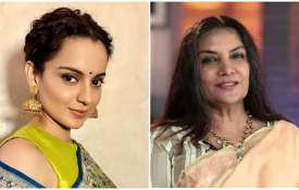 Shabana Azmi and kangana Ranaut- India TV