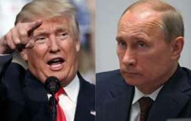 US President Donald Trump and Russian President Vladimir Putin   AP File- India TV
