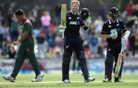 लगातार दूसरे वनडे में गुप्टिल ने जड़ा शतक, न्यूजीलैंड ने बांग्लादेश पर बनाई 2-0 की अजेय बढ़त- India TV