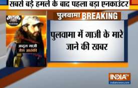 Mastermind of Pulwama Attack Abdul Rasheed Ghazi reportedly killed - India TV