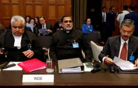 Harish Salve, Deepak Mittal at ICJ- India TV