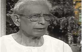 Hindi writer and critic Namvar Singh dies in Delhi...- India TV