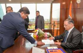Newly-appointed CBI Chief Rishi Kumar Shukla takes charge from interim CBI chief M Nageswara Rao- India TV