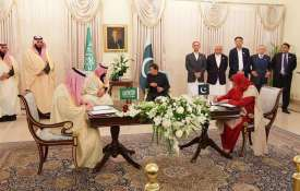 Saudi crown prince Mohammed bin Salman signs $20 billion in agreements with Pakistan- India TV
