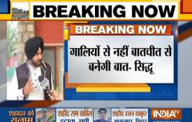 Terror has no nation, killing people is not solution, says Navjot Singh Sidhu- India TV