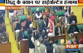 Shiromani Akali Dal protests against Navjot Singh Sidhu remarks on Pulwama attack- India TV