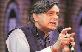 शशि थरूर का विवादित बयान, कहा-वर्ल्ड कप में पाकिस्तान से न खेलना सरेंडर से भी बदतर- India TV
