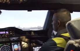 'Pilot' Usman Khawaja gets behind the wheels of world's largest passenger aircraft- India TV