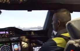 'Pilot' Usman Khawaja gets behind the wheels of world's largest passenger aircraft- India TV