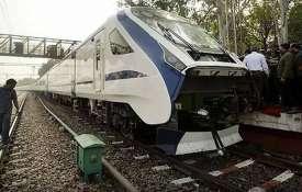 भारत की सबसे तेज़ ट्रेन 'वंदे भारत एक्सप्रेस' की रफ्तार पर पहले ही दिन लगी ब्रेक- India TV