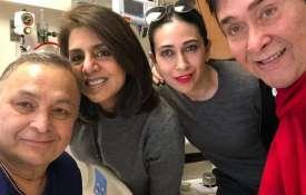 Randhir Kapoor, Karisma Kapoor, Rishi Kapoor and neetu kapoor- India TV