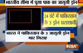 India shot down 3 Pakistani drones in 24 hours on Sriganganagar border- India TV
