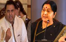 Sushma Swaraj, Pak minister in war of...- India TV