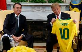 Donald Trump suggests Brazil could join NATO as he meets Jair Bolsonaro | AP- India TV