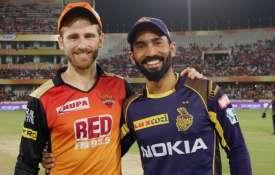 IPL 2019: कोलकाता नाइट राइडर्स और सनराइजर्स हैदराबाद के बीच मैच कब, कहां और कैसे देख सकते हैं - India TV