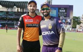 लाइव क्रिकेट मैच स्ट्रीमिंग IPL 2019 : कोलकाता नाइट राइडर्स बनाम सनराइजर्स हैदराबाद- India TV