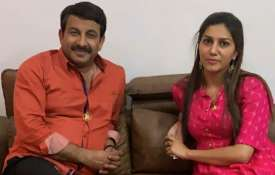 Manoj Tiwari and Sapna Choudhary- India TV