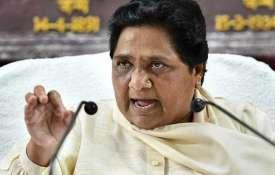 मायावती का आरोप, कहा-वोट की खातिर मोदी सरकार ने छिपा रखे हैं आंकड़े- India TV