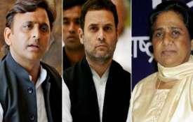 कांग्रेस का 'हाथ' माया-अखिलेश के साथ, बन सकता है नया समीकरण?- India TV
