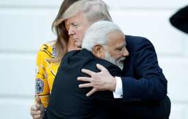 Narendra Modi and Donald Trump | AP File Photo- India TV