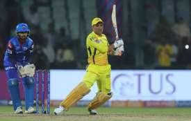 आईपीएल 2019 DCvCSK Highlights: शेन वॉटसन, एमएस धोनी की पारी के दम पर चेन्नई सुपरकिंग्स ने दिल्ली कैप- India TV