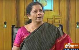 Nirmala Sitharaman in Aap ki Adalat- India TV