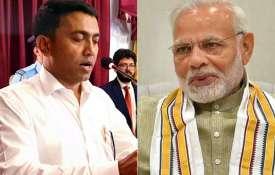 CM Pramod Sawant will boost Goa's growth trajectory, says Narendra Modi- India TV