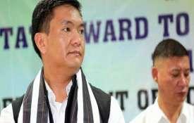अरुणाचल में भाजपा को लगा जोर का झटका; 2 मंत्रियों, 12 विधायकों का पार्टी से इस्तीफा- India TV