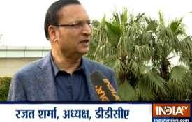 भारत बनाम ऑस्ट्रेलिया मैच के लिए फिरोजशाह कोटला मैदान पर हुईं हैं खास तैयारियां: DDCA अध्यक्ष रजत शर- India TV