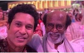 Sachin tendulkar and rajnikant- India TV