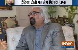 सैम पित्रोदा ने इंडिया टीवी से कहा, एक सवाल सुरक्षा बलों के मनोबल को कम नहीं कर सकता- India TV