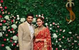 Arya-Sayyeshaa Saigal Wedding Reception- India TV