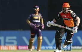 IPL 2019: ईडन गार्डेन के मैदान पर गरजा डेविड वॉर्नर का बल्ला, धमाकेदार अंदाज में की आईपीएल में वापसी- India TV