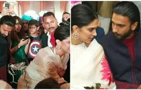 Deepika padukone and ranveer singh Viral picture- India TV