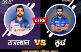 लाइव स्ट्रीमिंग एमआई बनाम आरआर, 2019 कब और कहां देखना है, टीवी और ऑनलाइन मोबाइल पर लाइव क्रिकेट मैच - India TV