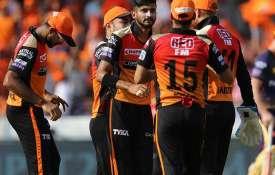 Live Cricket Score SRH VS KKR IPL 2019 match 38 Live blog updates in Hindi- India TV