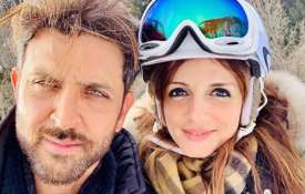 Hrithik Roshan, Sussanne Khan- India TV
