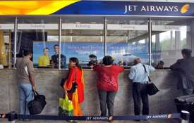 jet airways ticket counter- India TV