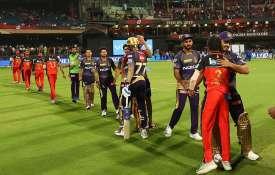 IPL 2019, लाइव क्रिकेट स्कोर KKR vs RCB- India TV