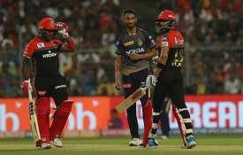 लाइव क्रिकेट स्कोर IPL 2019 KKR vs RCB लाइव मैच: कोलकाता नाइट राइडर्स बनाम रॉयल चैलेंजर्स बैंगलोर, ई- India TV