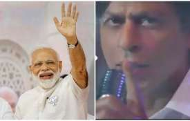 PM Narendra modi and shahrukh khan- India TV