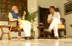Akshay Kumar and PM Narendra Modi | ANI- India TV